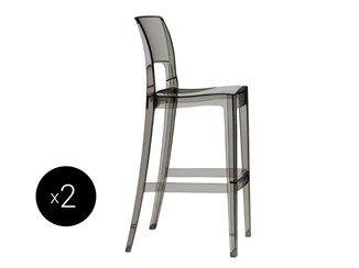 Cadeira alta empilhável de policarbonato para jardim ISY   Cadeira alta - SCAB DESIGN