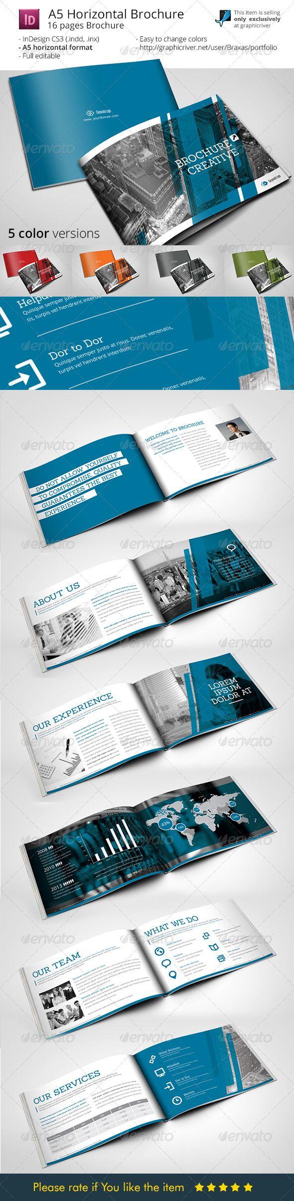 A5 Brochure Creative - Informational Brochures