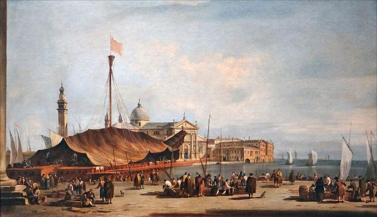 La piazzetta verso San Giorgio Maggiore, Francesco Guardi