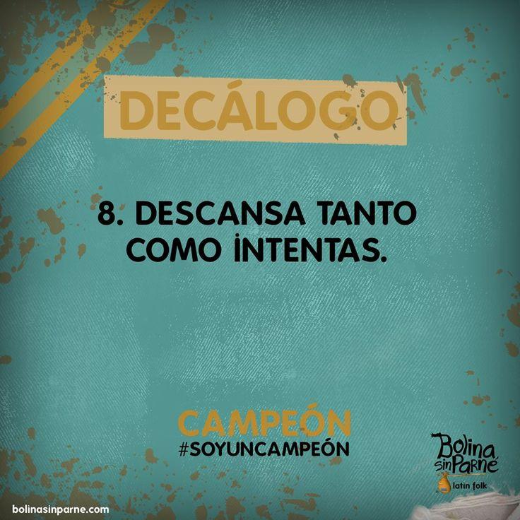 # 8 | Decálogo Campeón.