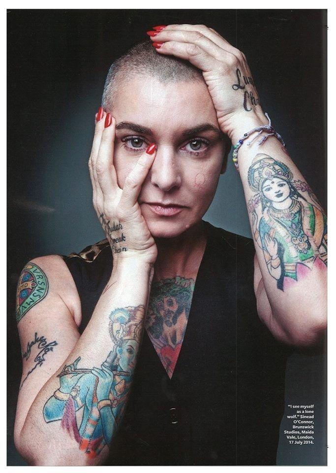 Resultado de imagen para sinead o'connor tatuajes