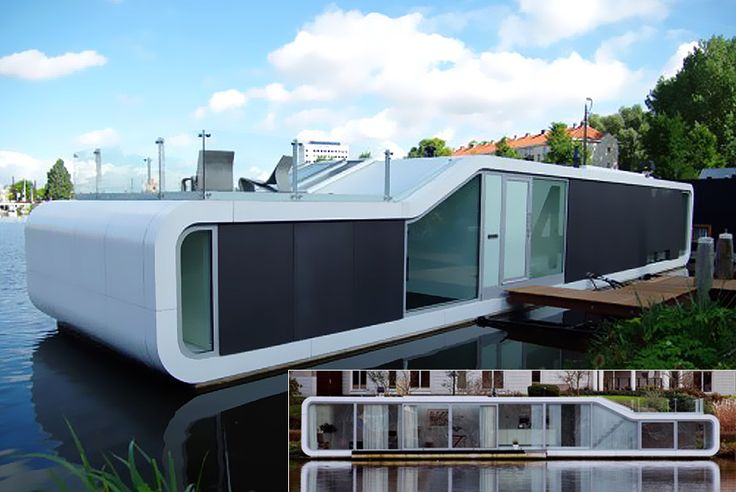 very nice water home.Floating House, Boathouse Boats Etc, Cool Houses, Architecture 01, Houseboats, Dreams House, Amazing Architecture, Boathouses Boats Etc