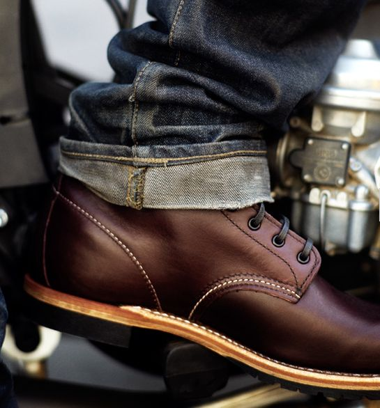 beckman boots / red wing - slick shoes. menswear men guys fashion
