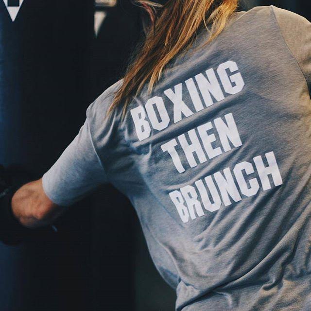 Sounds like a plan. 🥊👉🥞 #TITLEBoxingClub #tbc #TITLEFam #boxing #boxingtraining #brunch #fitness #sundaygrind #fitspiration #fun #hardworkpaysoff
