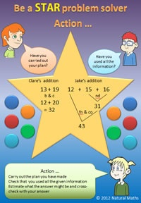 Maths Problem Solving | Maths Strategies | STAR Model - Natural Maths