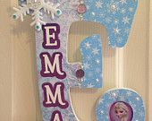 Personalized Hanging Letter-Frozen inspired by MeeMeesMasterpieces