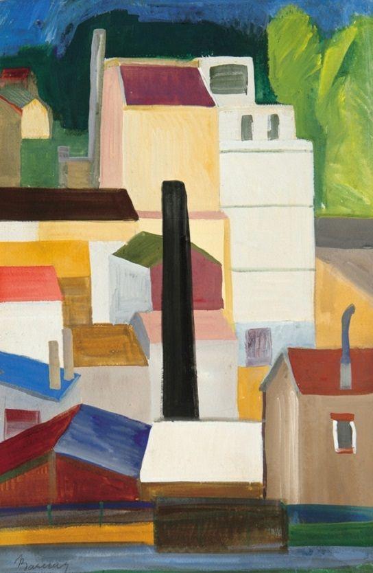 Barcsay Jenő (1900-1988) - Párizs, 1929