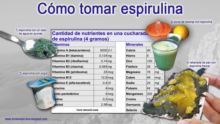 270 best images about Espirulina o Spirulina on Pinterest