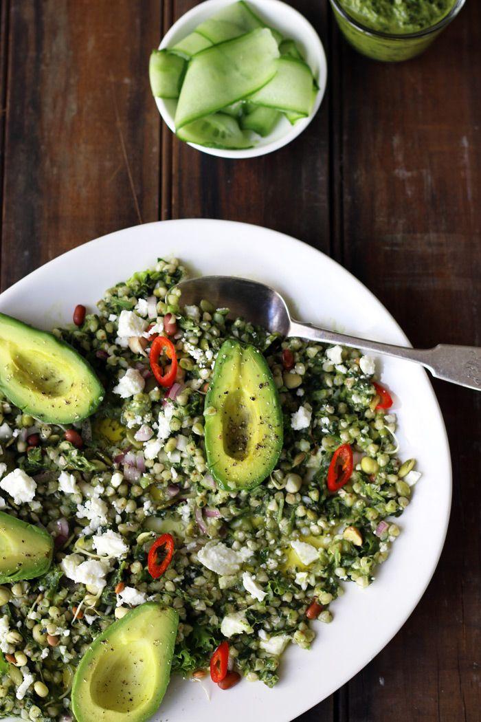Alkalising Buckwheat Salad - The Luminous Kitchen