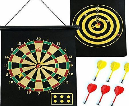 how to play magnetic dart board