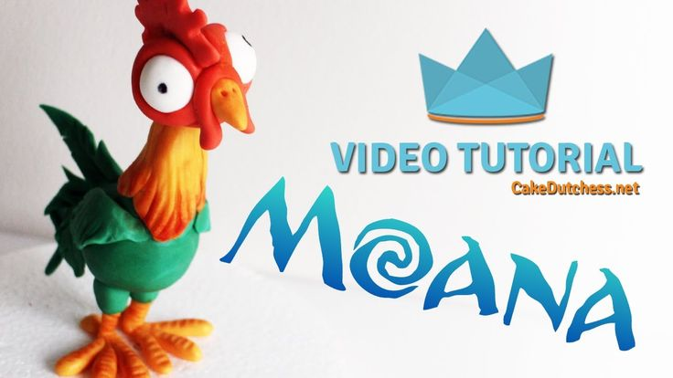 How to make Hei Hei from Disney's Moana Now I thought the pig would be Moana's sidekick but it turned out to be this crazy chicken! I loved him. I used a sma...