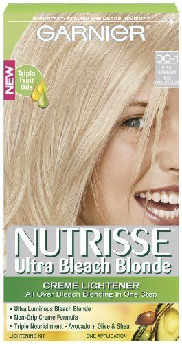 598 best hair mascaras and root touch ups images on pinterest garnier nutrisse hair color ultra bleach blond creme lightener check this awesome image pmusecretfo Choice Image