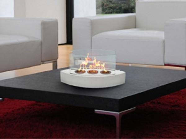 Lexington Tabletop Fireplace :: Anywhere Fireplace Ventless Fireplace