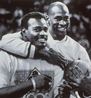 Walter Payton and Michael Jordan  Chicago's greatest!