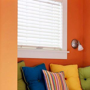 """""""Want to bring sunny daylight-spectrum light into a windowless basement room? Build a false lighted window, and you'll create above-ground ambience. Such """"windows"""" are actually easy-to-build custom light fixtures.""""  #basement #lighting #windows"""