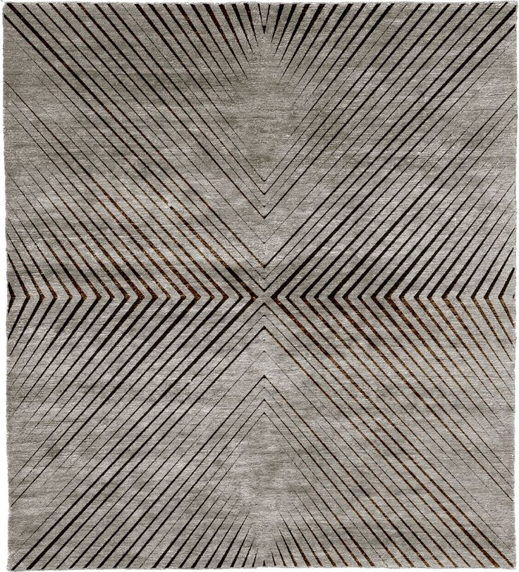 Hand Knotted Tibetan Rug From The Tibetan Rugs 1 Collection At Modern Area  Rugs