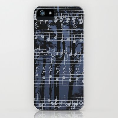 music is the only philosophy iPhone & iPod Case by anipani - $35.00