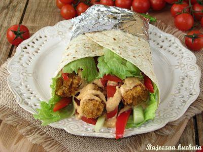 Bajeczna Kuchnia: Tortilla z nuggetsami