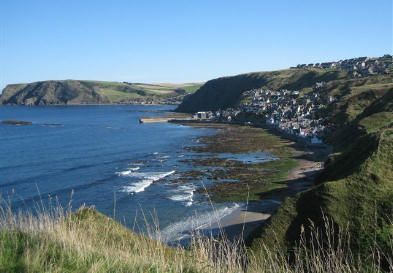 Gamrie Bay, setting for the Creative Retreat