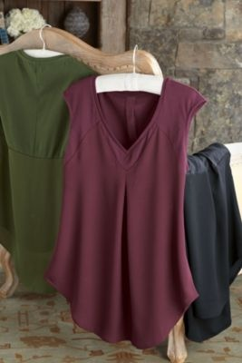 Lille Layered Tee from Soft Surroundings