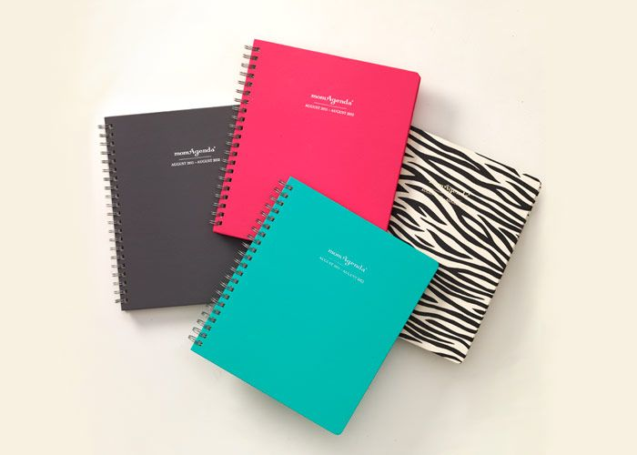 I love organizing - and reorganizing - my weeks with this thing! The spiral bound is my new favorite!