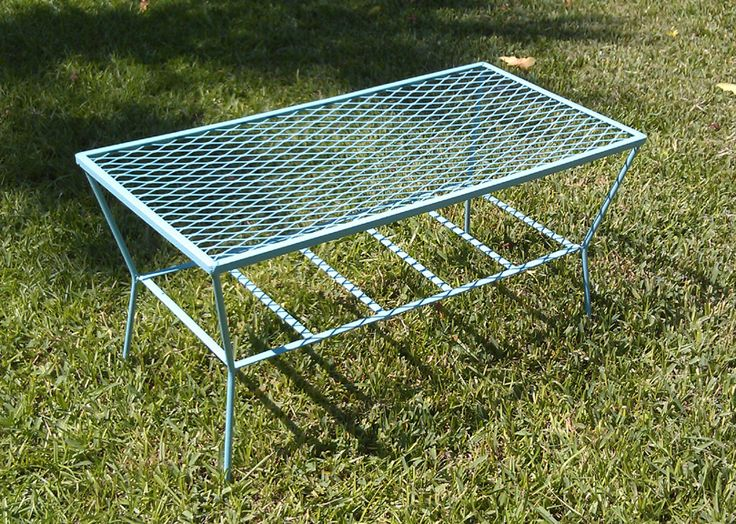 1000+ images about Vintage Metal Porch Tables on Pinterest