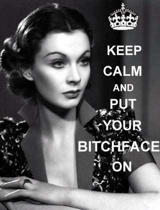 The only kind of keeping calm I intend to do!  - Let her know she is beautiful…