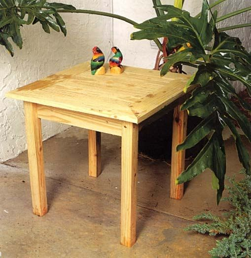 small table woodworking plans 1
