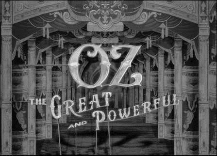 Oz Opening Title Sequence #DisneyOz