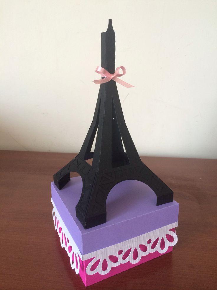 Estuche Torre Eiffel