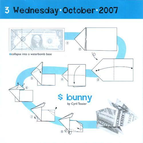 Dollar Bill Origami Ring