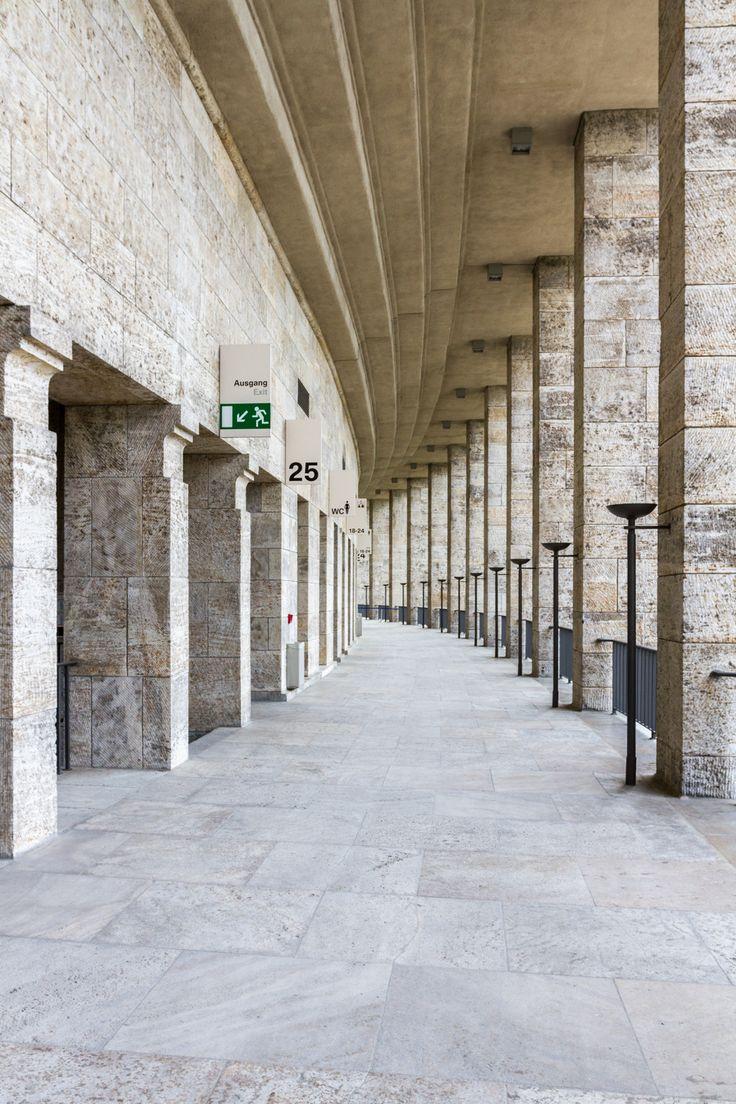 Olympiastadion « Bartosz Kutniowski Fotografia Architektury #berlin #stadium #Olympiastadion #architecturephotography #fotografiaarchitektury #fotografia #architektura
