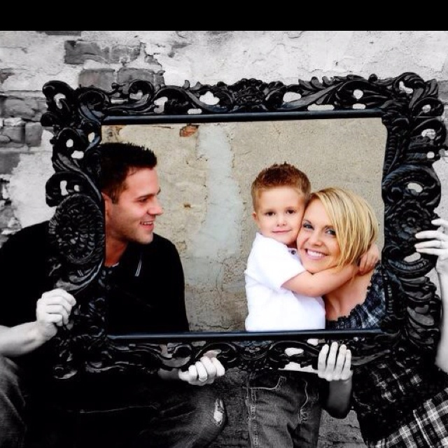 Cute family picture idea and photoshop effect