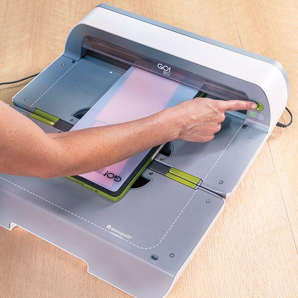 Go Big Electric Fabric Cutter Starter Set Fabric Cutter Accuquilt Minimal Stationery