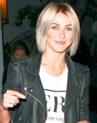 Julianne Hough Rocks Shorter Hair, Platinum Highlights: Picture