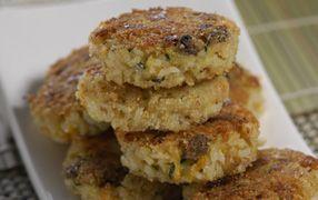 Vegetable rice patties