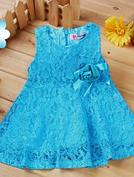 Girl's Beautiful Sleeveless Bowknot Sequined Dres... – CAD $ 16.67