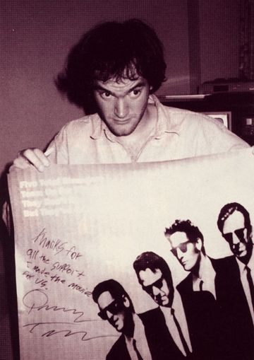 Rare 1992 Interview With Quentin Tarantino for 'Reservoir Dogs.' http://cinearchive.org/post/74328907779/sundance-institutes-filmmakers-lab-scenes-of