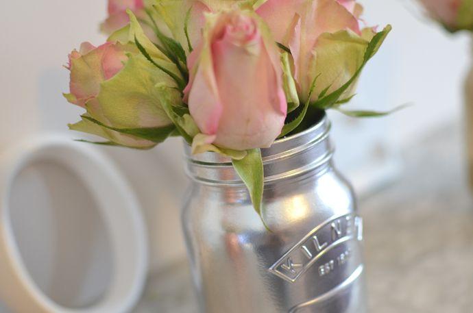 Copper Jar & Tin Vases – DIY POST
