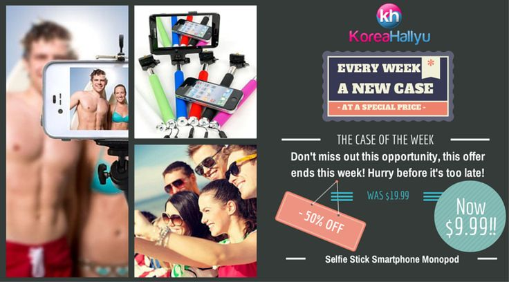 Meet the new 'selfie-stick' craze This week's case of the week is not a phone case but it is the new Selfie Stick Smartphone Monopod, the new craze spreadi