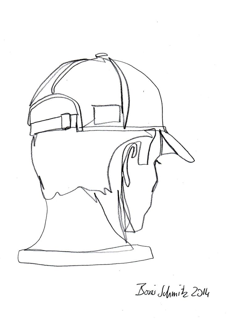 Simple Contour Line Drawing : Quot profil perdu one continuous line drawing by boris