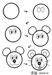 简笔画 - 插画绘画 - 趣物街_手工DIY_手绘插画_折纸不织布,创意生活分享平台!