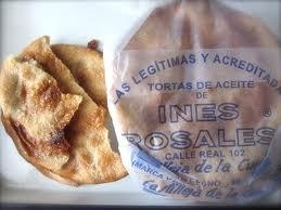 Tortas de aceite Inés Rosales  I love these...Spanish sweet crackers things! Slight anis flavor...