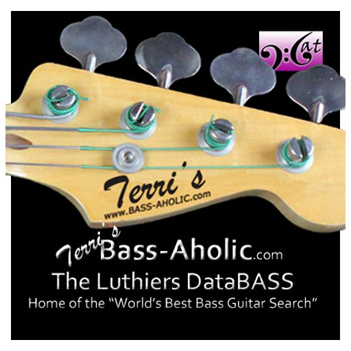 """Terri's Bass-Aholic.com - The Luthiers DataBASS and Home of the """"World's Best Bass Guitar Search"""""""