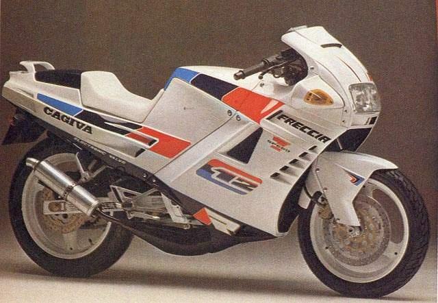 Freccia 125 C12R, 1989