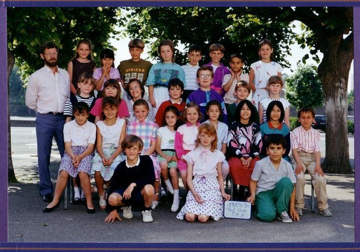Photo de classe CE2 de 1989, ECOLE PAUL BERT