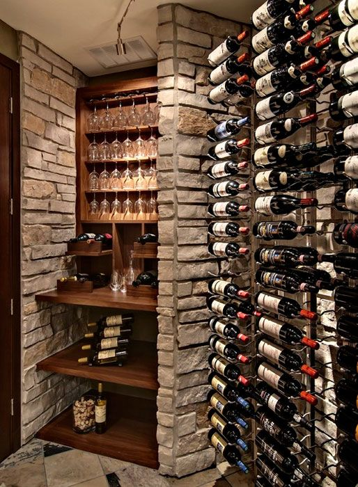 Best 25 wine cellars ideas on pinterest home wine cellars wine rooms and wine cellar design - Small space wine racks design ...