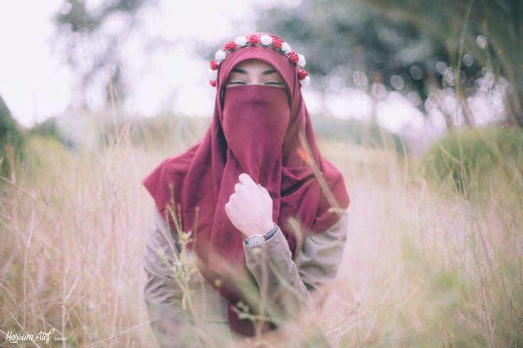Beautiful Photoshoot Muslim Girl in Niqab