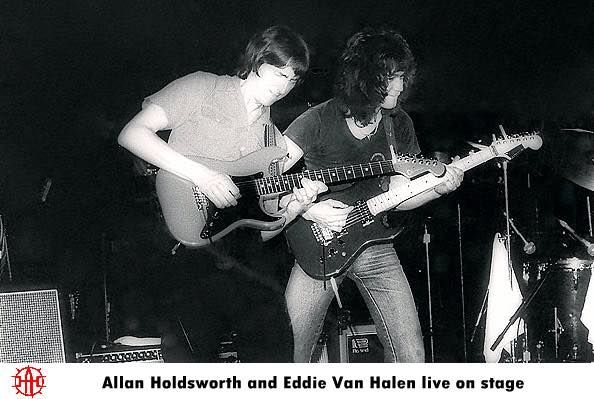 EVH with Allan Holdsworth