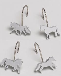 Horse Shower Curtain Hooks